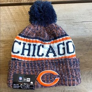 NWT 2018 Chicago Bears Era NFL Knit Hat beanie